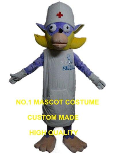 Chien docteur mascotte costume personnalisé dessin animé personnage cosplay adulte taille carnaval costume 3092