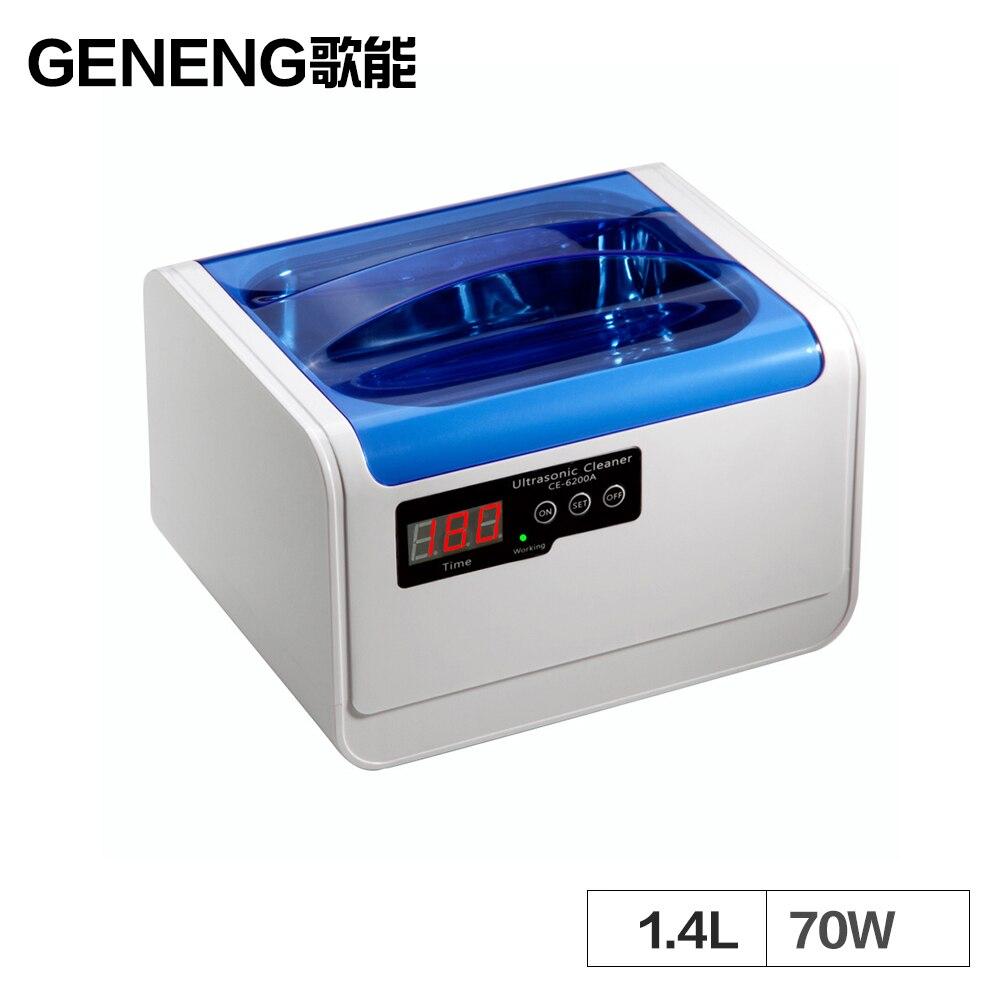 Ultra sonic Cleaner 1.4L Lavadora de Pratos de Banho Casa de Limpeza de Tanques de Anéis de Prata Jóias Dentadura 2L Ultra sonic Vibração