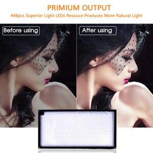 Image 4 - SAMTIAN FL 3060 Flexible LED Video Light Photography Lighting Dimmable 5500K 384 LEDs  30*60cm Panel Light for Video Photo Lamp