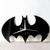 Batman Sanat Süslemeleri Erkek Yatak Odası Duvar resmi Batman Tırnaklar Duvar Çıkartması Vinil Sticker çocuk Duvar Sticker Duvar Kağıdı Sanat