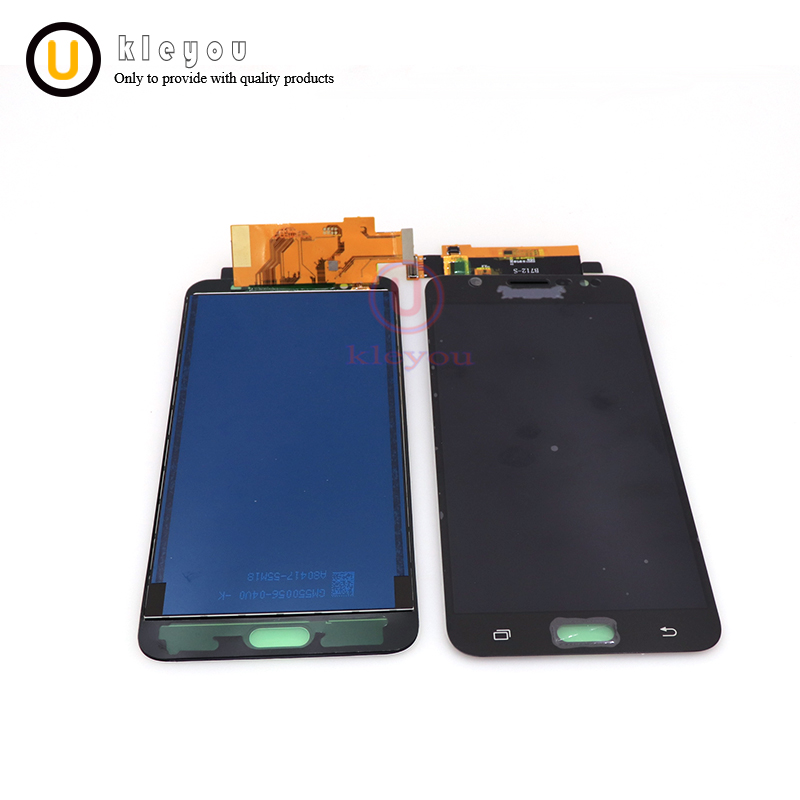 TFT <font><b>LCD</b></font> Für Samsung Galaxy J7 2016 J710 <font><b>J710F</b></font> J710M J710G <font><b>LCD</b></font> Screen Display Touch Digitizer Einstellen Helligkeit J710 <font><b>LCD</b></font> image