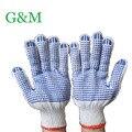 Каучук Синий Бисер перчатки скольжению перчатки рабочие защитные перчатки G0413-2