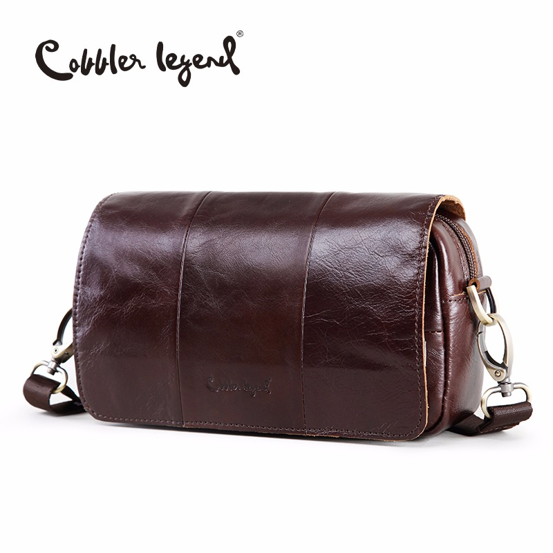 Cobbler Legend 2018 High Quality New Fashion Women's Shoulder Messenger Bags Genuine Leather CorssBody Bag Retro Satchels 10311 маленькая сумочка cobbler legend 100% femininas bm cl 10311