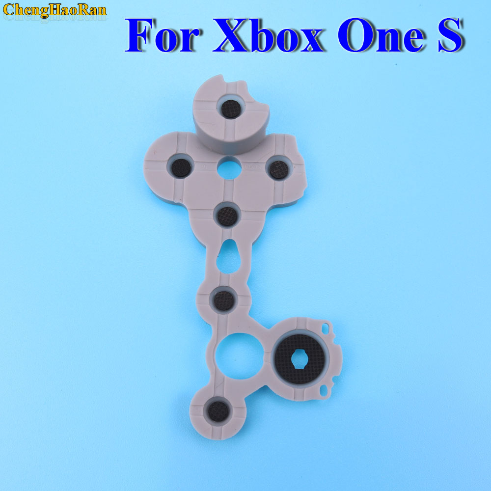 Image 3 - ChengHaoRan Silicon Rubber Conductive Rubber Button For Xbox One Slim S Controller D Pad-in Replacement Parts & Accessories from Consumer Electronics