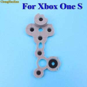 Image 3 - ChengHaoRan de caucho de silicona conductiva Botón de goma para Xbox uno Slim S controlador D Pad