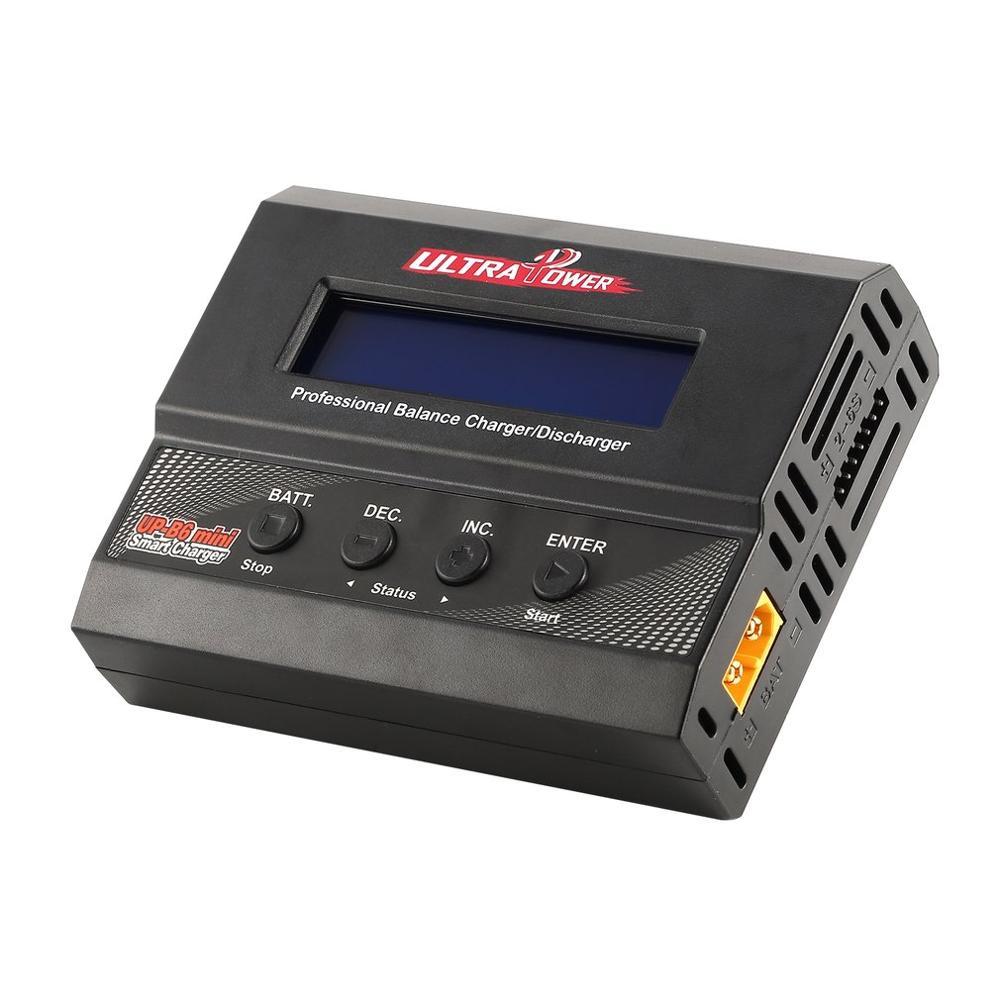 Chargeur Ultra puissant UP-B6 MINI AC/DC chargeur de batterie Balance intelligente chargeur de Lipo extérieur 60 W 6A 2-6 S Mini quadrirotor