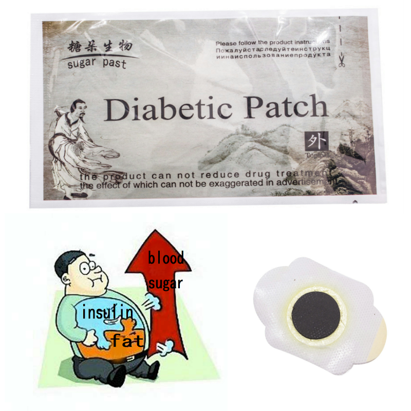 5 Bags Diabetes Patch Reduce High Blood Sugar Diabetes Treatment Cure Diabetes Patch Medications Natural Herbs Diabetic Plaster