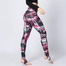 Yoga Pants Sports 2017 Fitness Women Running Leggings Elastic for Gym Women Sport Trousers Running Tights