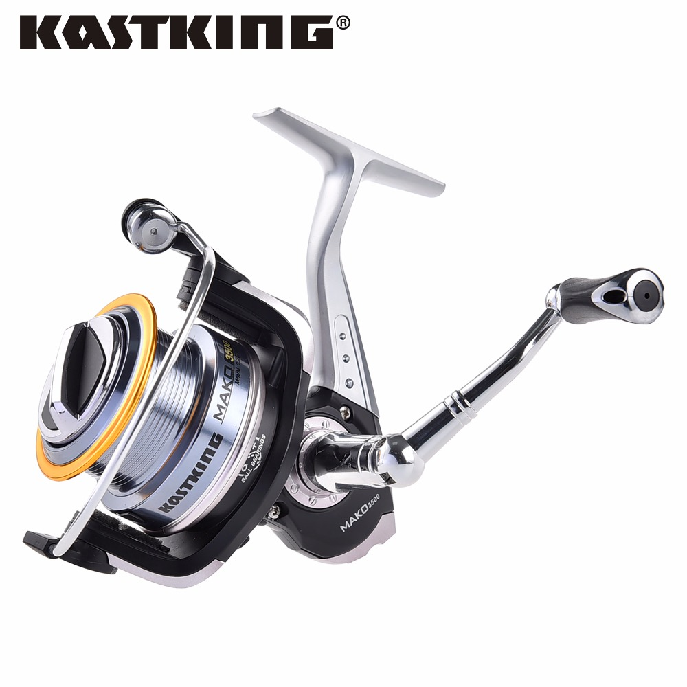 KastKing MAKO3500 0.91M Fast Line Retrieve Saltwater Fishing Spinning Reel Max Drag 10KG Ice Fishing Reel моторный ледобур eskimo mako 43cc 10 250мм quantum m43q10