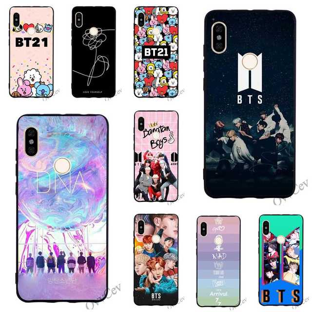 US $1 98 20% OFF|Ultra Thin BTS BT21 Bangtan Boys Phone Cover for Xiaomi  Redmi Note 5 Pro Case 4A 5 Plus 5A Prime 4X 6A 6 Covers Back-in Fitted  Cases
