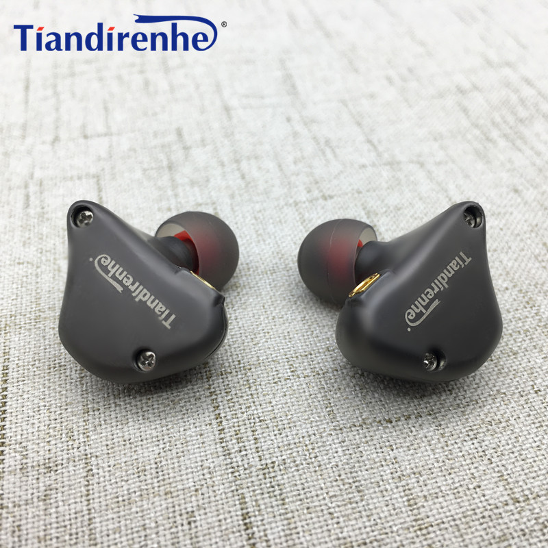 Tiandirenhe TD08 MMCX Earphone 1DD Dynamic Replacement  Wire for Shure SE215 SE535 SE846 HIFI Stereo Earbuds with MIC for iPhone original senfer dt2 ie800 dynamic with 2ba hybrid drive in ear earphone ceramic hifi earphone earbuds with mmcx interface