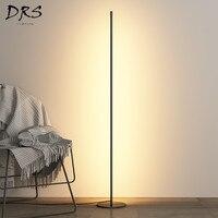 Designer Style LED Floor Lamp Bedroom Living Room Lighting Creative Floor Lights Nordic Minimalist Atmosphere Lights Lampada Da