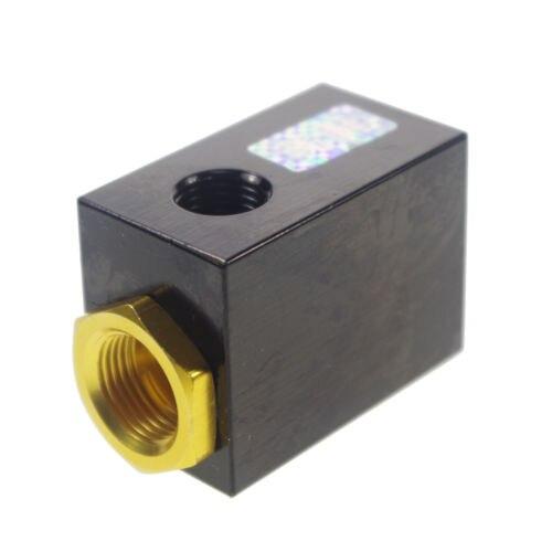 "Pneumatic Quick Exhaust Valve 1//4/"" BSPT Inlet Port Aluminum QE-02"