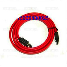 10pcs- 500pcs Data Cable Sata to Esata With Shrapnel Outer Mobile Hard Disk 0.5m Red Cord