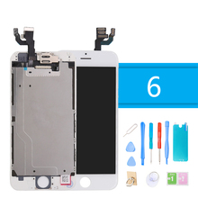 Luxury Suit Full Assembly Complete Screen Replacement for iPhone 6 LCD Touch Screen Display Digitizer for iPhone 6 + Repair Tool цены