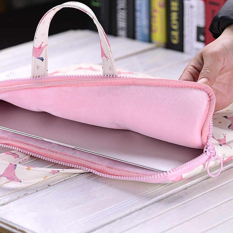 """Bolsa de ordenador portátil de 15,6 pulgadas 11 """"12"""" 13,3 """"14"""" 15 """"bolsa de ordenador portátil impermeable PU Notebook bolso de mano para hombre y mujer"""