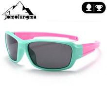 Jomolungma поляризованные солнцезащитные очки для детей с чехлом для мальчиков и девочек, детские очки для рыбалки, пешего туризма, спортивные очки вне UV400, защита D8193