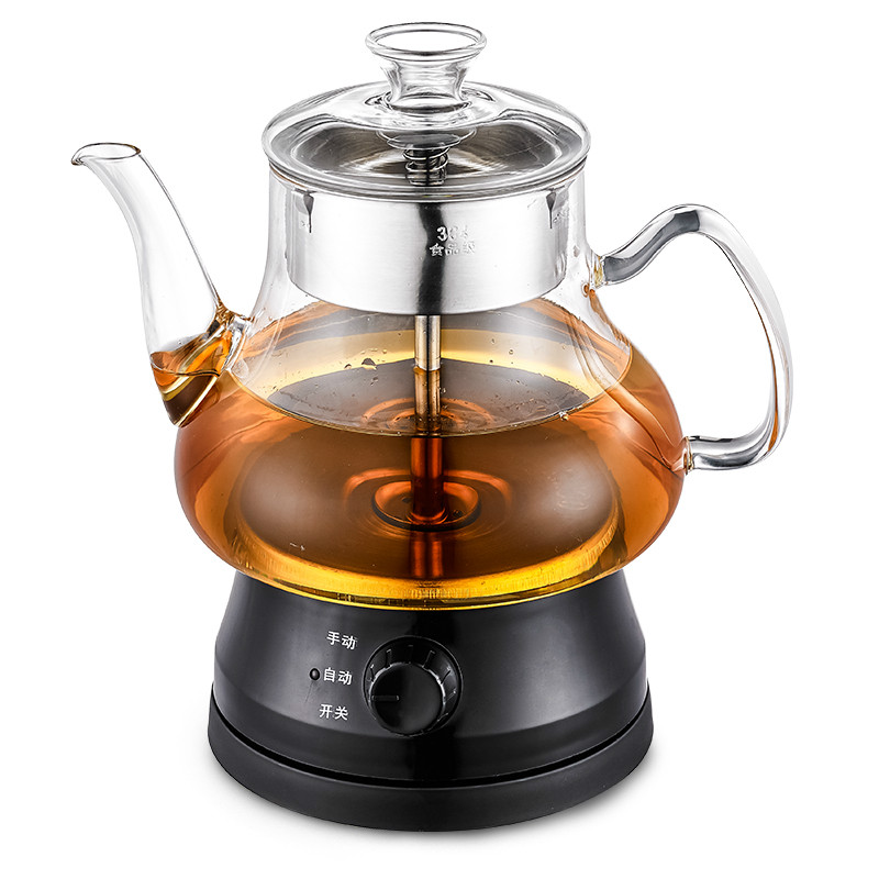 Electric kettle Black tea brewed maker fully automatic glass health brew electric bubble teapot Overheat ProtectionElectric kettle Black tea brewed maker fully automatic glass health brew electric bubble teapot Overheat Protection