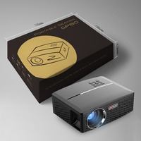 GP80 Mini Projector LED LCD Projector VGA HDMI Optional Bluetooth Wireless WIFI Beamer
