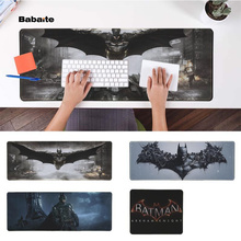 Babaite Cool New Batman Arkham Knight Durable Rubber Mouse Mat Pad Free Shipping Large Mouse Pad Keyboards Mat