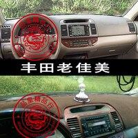Für toyota camry xv30 Daihatsu Altis 2001 2002 2003 2004 2005 2006 dashmats auto-styling zubehör armaturenbrett abdeckung