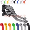 10 Colors For Suzuki GSF 600 S 250 BANDIT GS500 GS500E GS500F GSX400 Impulse CNC Motorcycle Short/ Long Clutch Brake Levers Hot