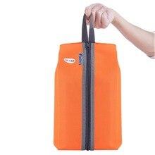4 цвета портативный 600D водонепроницаемый нейлоновый крючок дорожная сумка для мытья обуви сумка на молнии для туалетных принадлежностей для макияжа спортивная сумка для хранения в спортзале Органайзер