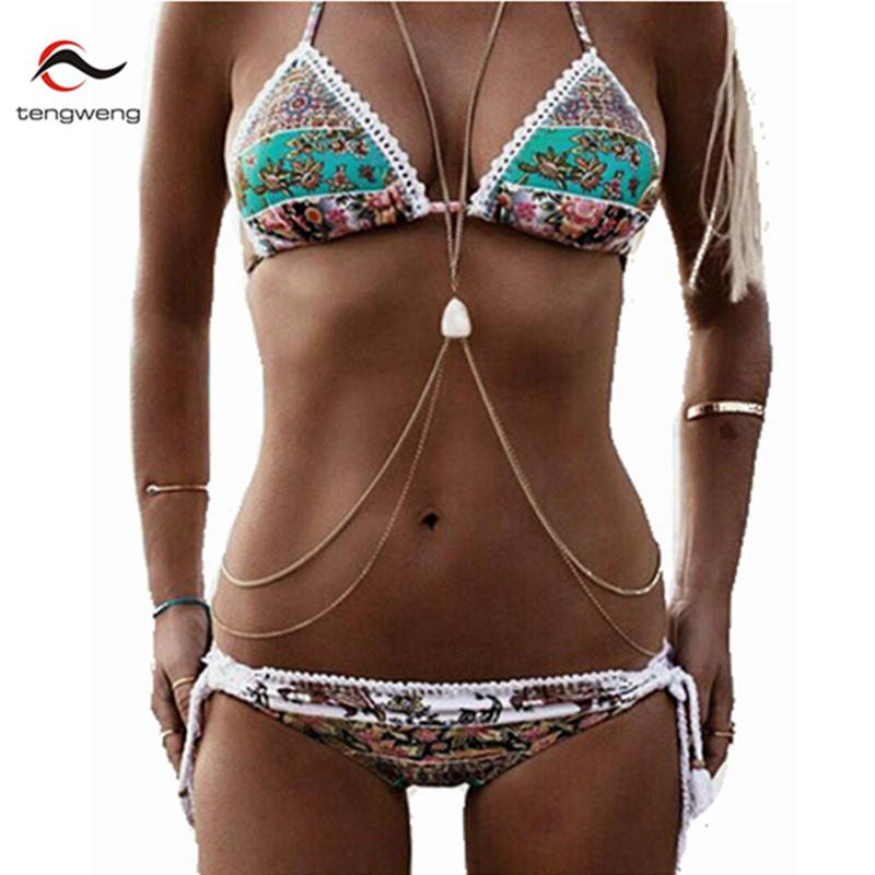 2017 Sexy Lace Halter Push Up Bikini Set BathingSuit Crochet Floral Swimsuit Mesh Swimwear Brazilian Women Maillot De Bain Femme