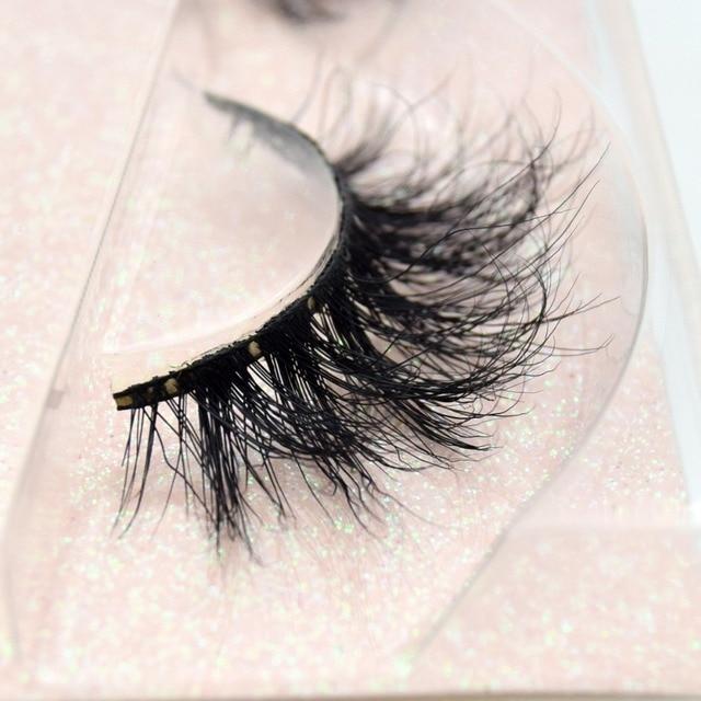 Visofree Mink Eyelashes 100% Cruelty free Handmade 3D Mink Lashes Full Strip Lashes Soft False Eyelashes Makeup  Lashes E11 2
