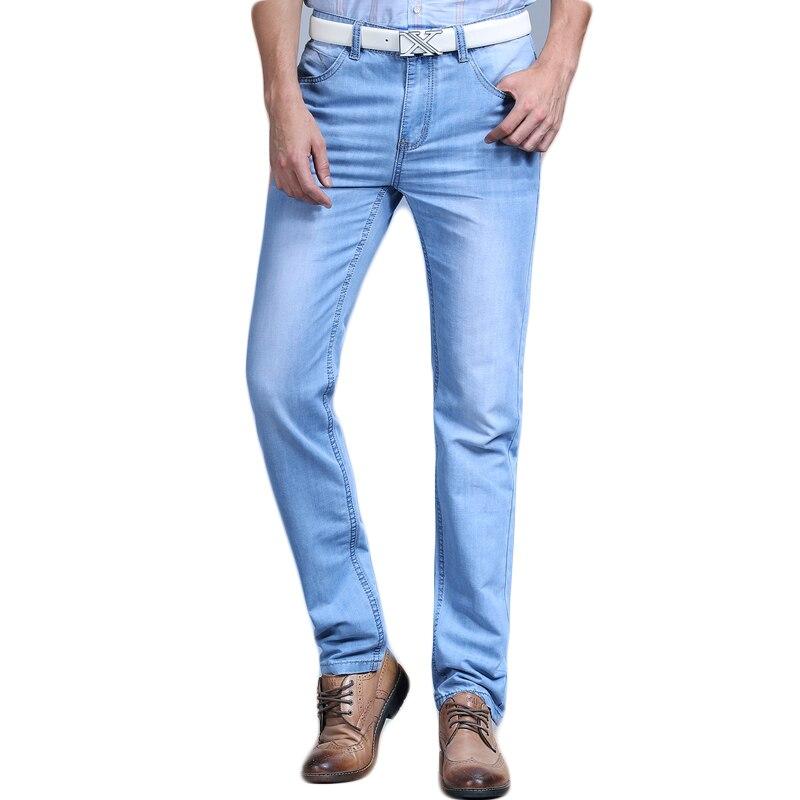 Big Venda Primavera Verão calças de Brim Utr Fina Frete Grátis 2018 calças de Brim da Forma Dos Homens Menpants Roupa Nova Marca de Moda