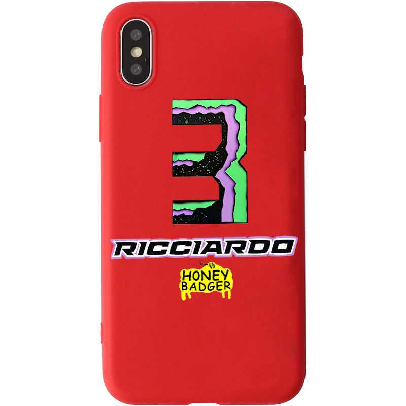 Úc Công Thức Rider Daniel Ricciardo Kẹo Màu dành cho Huawei P10 P20 P30 GIAO PHỐI 10 20 honor9 10 Thông Minh Mềm Mại ốp Lưng Silicone dẻo