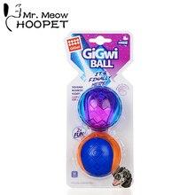 Hoopet собака жевательная игрушка смешной резиновый тренировочный мяч для домашних собак