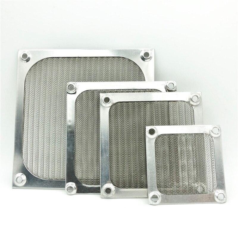 6CM/8cm/9cm/12cm Aluminum Mesh Dust Filter Mesh Net Guard 80mm Computer Case Dust Filter 120mm Exhaust Fan Filter