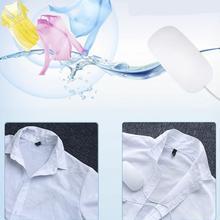 Мини электрическая USB ультразвуковая стиральная машина мышь форма дизайн портативный многофункциональный Прачечная машина подарок посылка белый