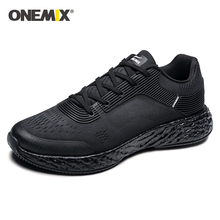 Onemix Man Running Shoes for Men high-tech Marathon Sneakers Outdoor Breathable Sneakers Anti-skid Walking Sports Run Shoes li ning men running shoes ez run anti slippery sports shoes light lining breathable sneakers arbm053 xyp586
