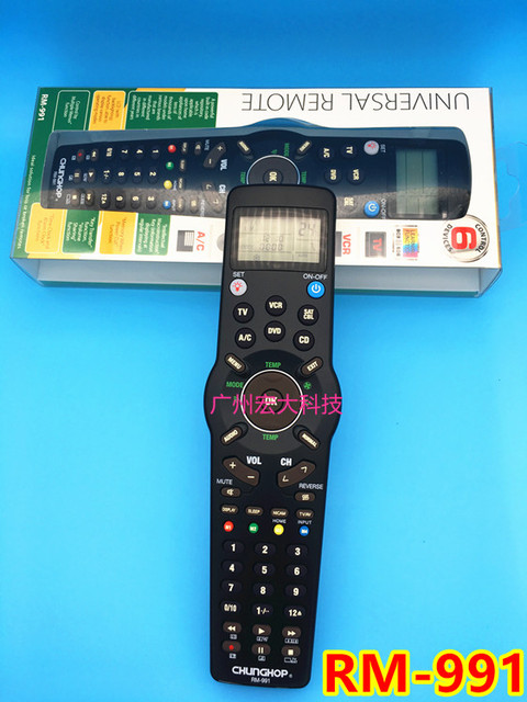 New wholesale chunghop rm 991 tvsatdvdcblcdacvcr universal new wholesale chunghop rm 991 tvsatdvdcblcd publicscrutiny Images