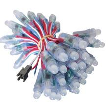 1000 قطعة كامل اللون WS2811 IC RGB بكسل LED مصابيح إضاءة وحدة كبيرة للزينة الإعلان أضواء DC5V/12 فولت
