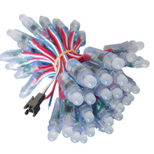 1000 adet tam renkli WS2811 IC RGB piksel LED modül lamba büyük dekorasyon için reklam ışıkları DC5V/12V