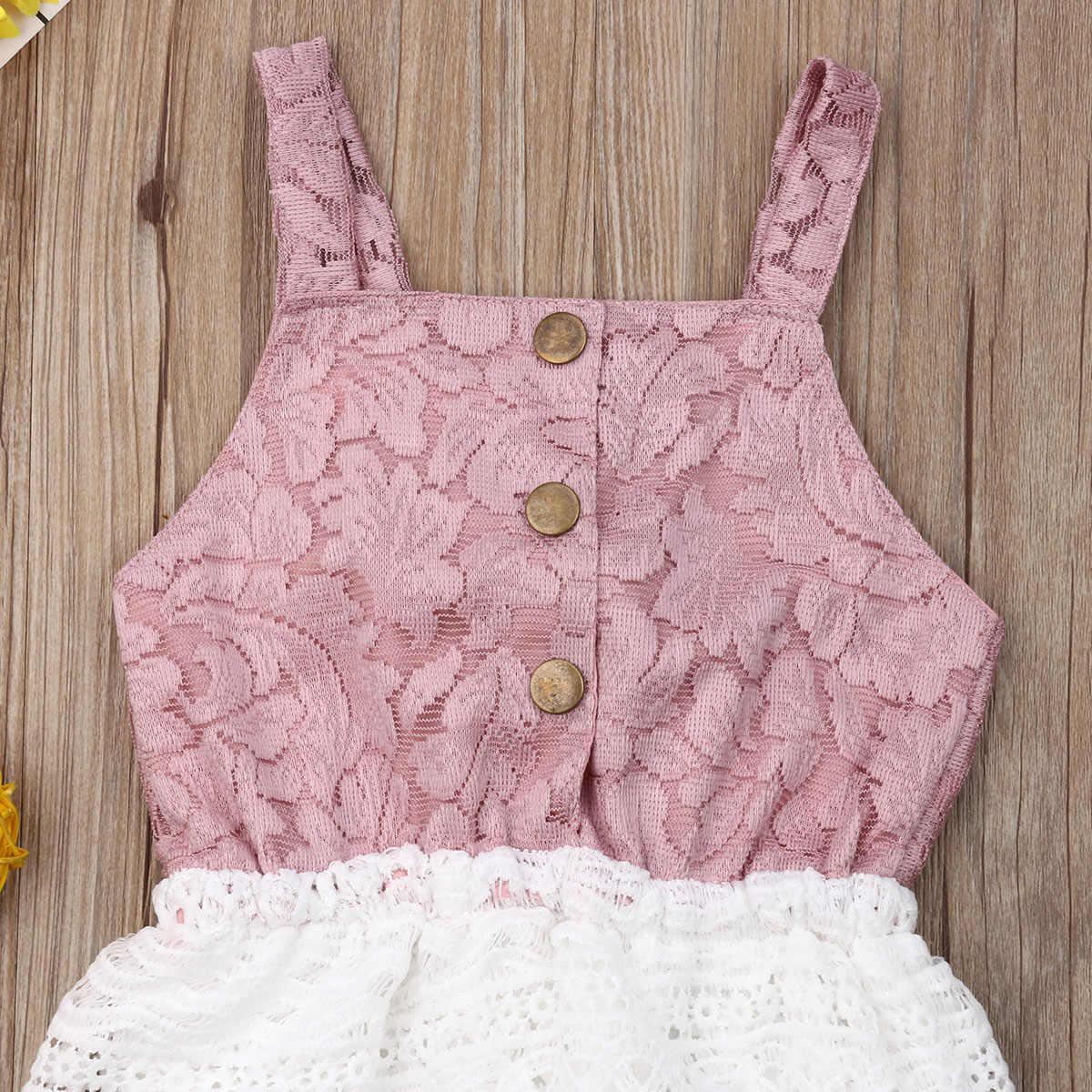 Летняя одежда принцессы для новорожденных девочек; боди с милыми кружевными кисточками и бантом; Открытая спина; Одежда для маленьких детей; Экипировка Одежда комбинезон