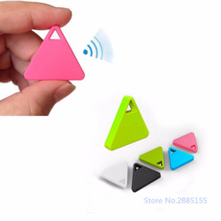 Hot Mini Bluetooth Tracker GPS Locator Anti-lost Tag Alarm GPS Trackers For Car Pets Child 3 Colors Car Security C45