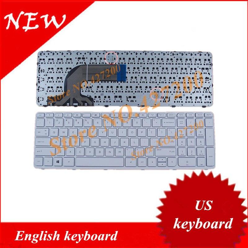 Englisch tastatur für hp 250 g2 g3 255 g2 g3 256 g2 g3 mit rahmen us ...