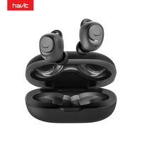 HAVIT TWS Bluetooth Earphones V5.0 HD Stereo Wireless Earbuds IPX5 Noise Cancelling Gaming Headset Paired Separately I96