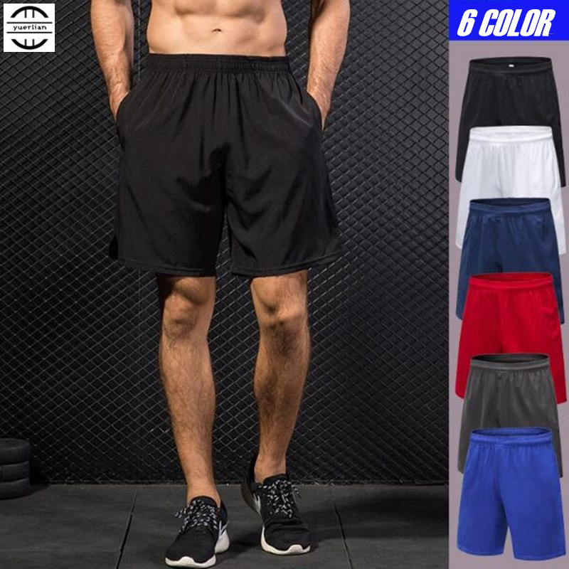 100pcs Men Exercise Fitness Holiday Casual Shorts Quick-dry Wicking Ultra Thin Light Loose Board Beach Shorts Summer Sweatpants