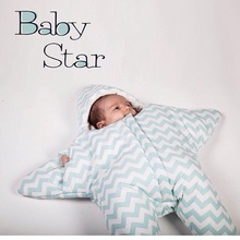 Small starfish Autumn and winter soft and warm baby sleeping bag newborn down snowsuit infant baby sleeping bag winter