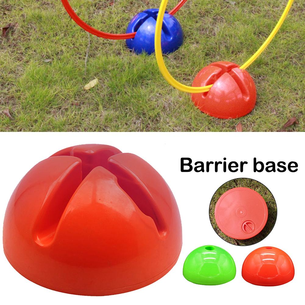 Multi-function Agility Slalom Football Training Mark Ring Water Base Football Bases Round Football Pole Base Support
