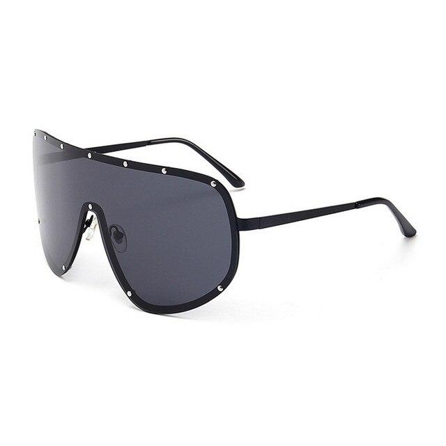 8de98c165c MINCL 2017 Oversized XXL Huge Large Shield Wrap Designer Womens Polarized  Sunglasses Men and women fashion unique sunglasses FML