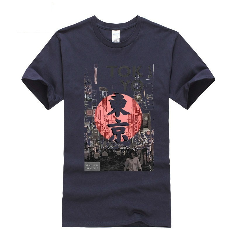2019 new T shirt Round neck Tokyo Ghoul Leisure Japan Anime Cartoon Fashion Summer dress men tee Pop Boy Funny t shirt Retro in T Shirts from Men 39 s Clothing