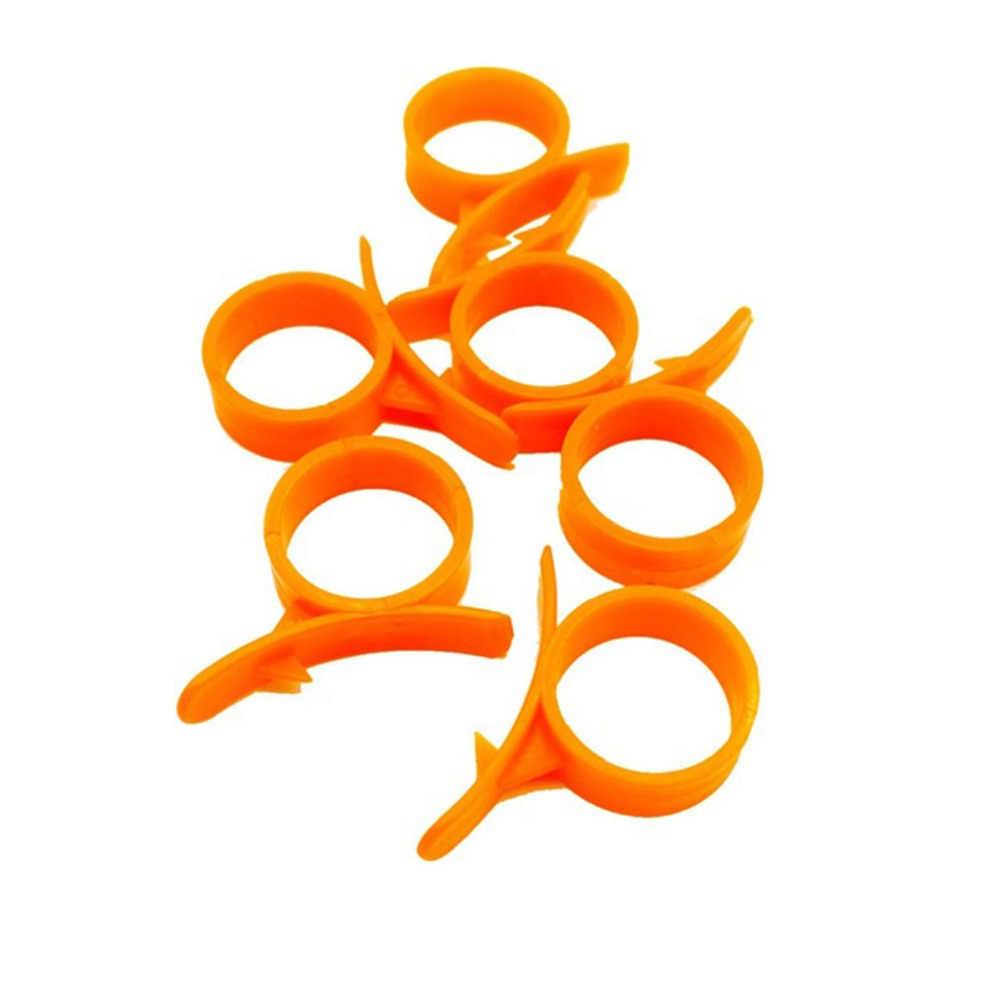 1 Pc atau 10 Pcs Kreatif Bentuk Siput Orange Peeler Mesin Pengupas Jari Jenis Kulit Remover Orange Lemon Perangkat Pembuka Dapur gadget Tools