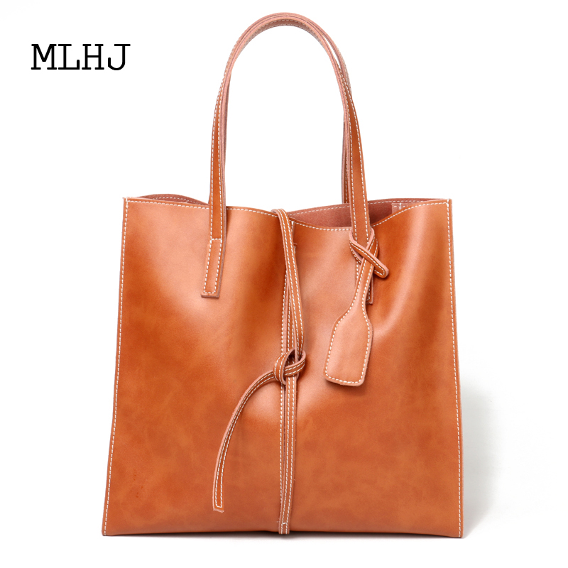 MLHJ handbag for women 2018 Simple and practical large capacity ladies shoulder bag handbag ladies handbag 2018 new simple large capacity zipper waller long tern fashion women style