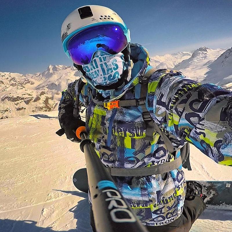 Marques Snowboard veste hommes en plein air imperméable coupe-vent respirant chaud qualité manteau de neige hiver mâle veste de Ski hommes colorés